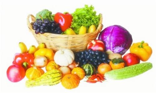 吃蔬菜水果颜色丰富点好