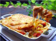 西式芝士番茄土豆焗鸡肉
