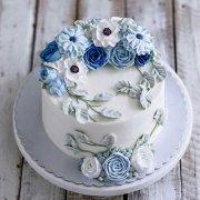 韩式裱花浮雕蛋糕