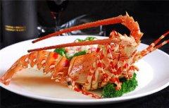 酒店菜品制作-金牌龙虾