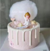 学员作品天使蛋糕